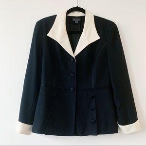 Vintage Tuxedo-Inspired Jacket
